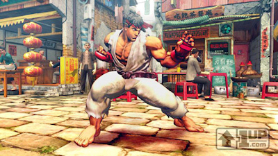First Screenshot of Street Fighter 4 From 1UP.com