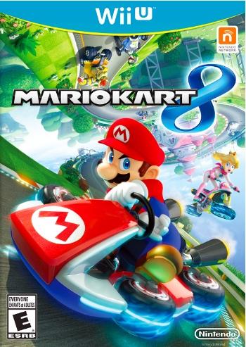 Mario Kart 8 Box Art