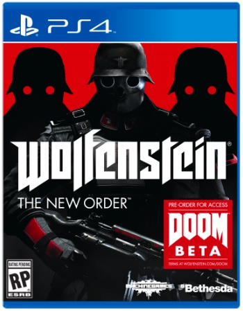 Wolfenstein - The New Order Box Art