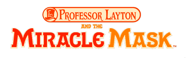 Professor Layton and the Miracle Mask Logo