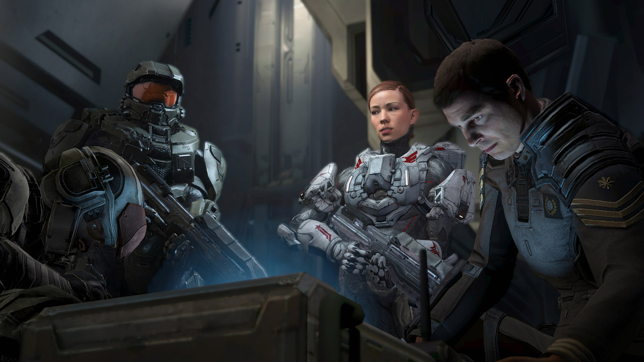 Halo 4 - Oh my goodness they look like humans