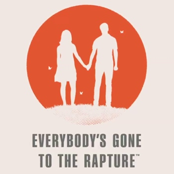 Everybody's Gone to the Rapture Box Art Logo