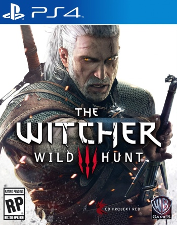 The Witcher 3 Wild Hunt PS4 Box Art