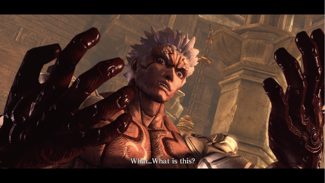 Asura's Wrath - Uh oh! What happened?!